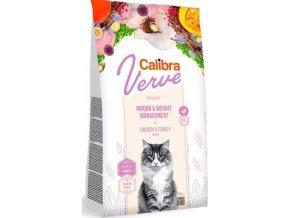 Calibra Cat Verve GF Indoor&Weight Chicken 3,5kg  + podestýlka EAZZY 6kg ZDARMA
