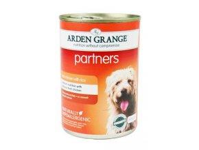 Arden Grange partners fresh chicken, rice & vegetables 395 g