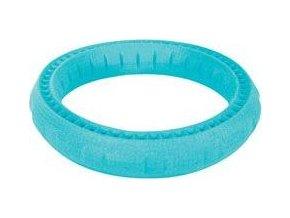 Hračka pes RING MOOS TPR 17cm modrá Zolux
