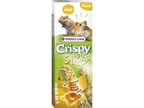 VL Crispy Sticks pro křečky/pískomily Med 2x55g