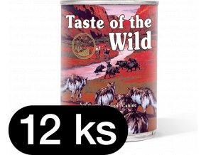 Taste of the Wild Southwest Canyon Can Dog 12x390 g (balení)