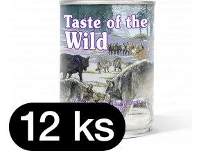 Taste of the Wild Sierra Mountain Can Dog 12x390 g (balení)