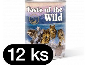 Taste of the Wild Wetlands Can Dog 12x390 g (balení)