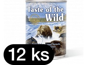 Taste of the Wild Pacific Stream Can Dog 12x390 g (balení)