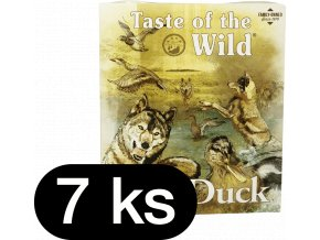 Taste of the Wild Duck & Chicken paštika pro psy 7x390g