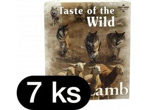 Taste of the Wild Lamb&Chicken paštika pro psy 7x390g