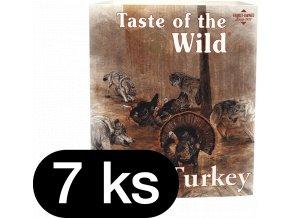 Taste of the Wild Turkey & Duck paštika pro psy 7x390g