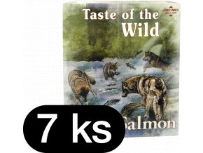 Taste of the Wild Salmon & Herring paštika pro psy 7x390g