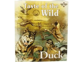 Taste of the Wild Duck & Chicken paštika pro psy 390g
