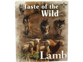 Taste of the Wild Lamb&Chicken paštika pro psy 390g