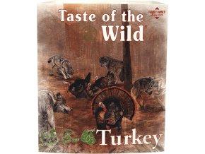 Taste of the Wild Turkey & Duck paštika pro psy 390g