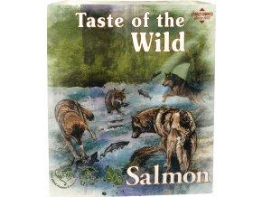 Taste of the Wild Salmon & Herring paštika pro psy 390g