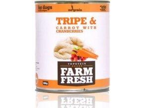 Farm Fresh Dog Tripe&Carrot with Cranberries konz 800g
