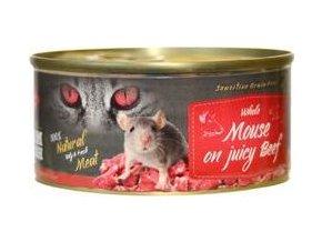 Farm Fresh Cat Whole Mouse on juicy Beef konzerva 100g