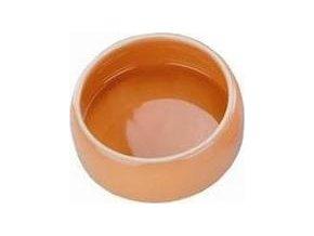 Miska hlod. keramická - oranžová Nobby 125 ml