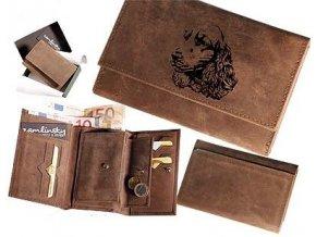 """dámská peněženka 009 """"kokršpaněl"""""""