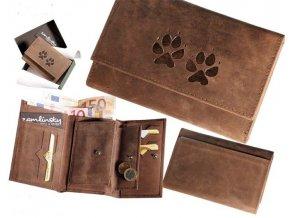 """dámská peněženka 009 """"psí stopy"""""""