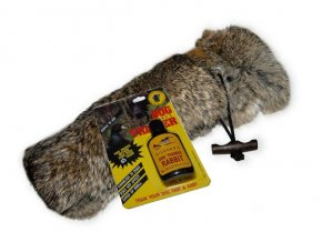 "Firedog dummy rabbit ""full fur"" 500g  small mouth+ Pach zajíce 35ml"