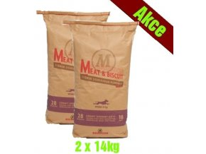 Magnusson Meat Biscuit WORK 2x14kg