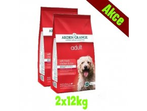 Arden Grange Adult with fresh chicken & rice 2x12 kg