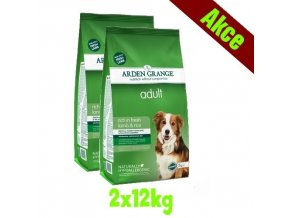 Arden Grange Adult rich in lamb & rice 2x12 kg