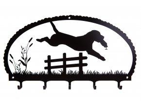 Věšák Jumping Labrador