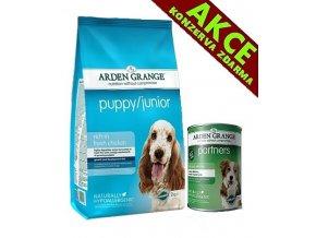 Arden Grange Puppy/Junior 12 kg + KONZERVA ZDARMA