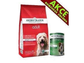 Arden Grange Adult with fresh chicken & rice 12 kg + KONZERVA ZDARMA