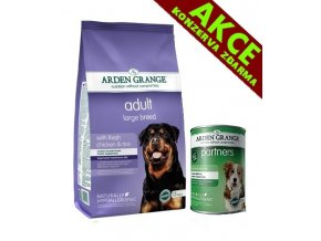 Arden Grange Adult Large Breed 12 kg + KONZERVA ZDARMA
