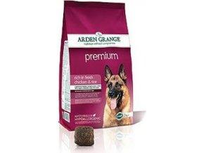 Arden Grange Premium 12 kg + KONZERVA ZDARMA
