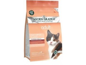Arden Grange Adult Cat: fresh salmon & potato - grain free 8 kg