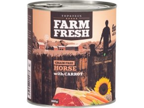 Farm Fresh Horse with Carrots 800g