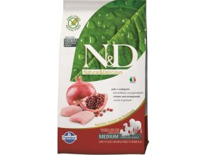 N&D Grain Free DOG Adult Chicken & Pomegranate 12kg