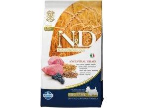N&D Low Grain DOG Adult Lamb & Blueberry 2,5kg