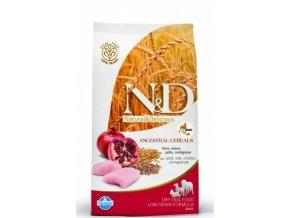 N&D Low Grain DOG Adult Maxi Chicken & Pomegranat 2,5kg