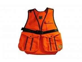 Firedog Dummy vesta Hunter oranžová - bavlna