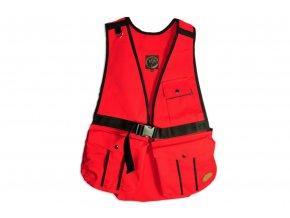 Firedog Dummy vesta Hunter červená - bavlna