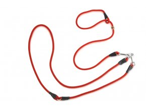 Firedog Lovecké vodítko 8mm moxon červené
