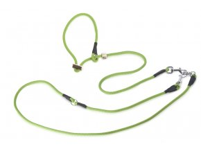 Firedog Lovecké vodítko 8mm moxon se zarážkou světle zelené