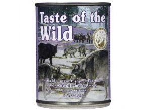 Taste of the Wild sierra Mnt. konzerva 390g