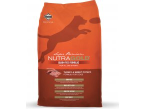 Nutra Gold Turkey & Sweet Potato GRAIN FREE 13,6kg