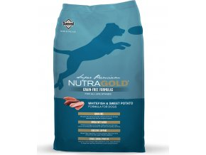 Nutra Gold Whitefish & Sweet Potato GRAIN FREE 13,6kg