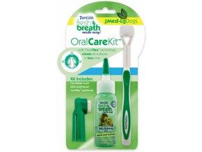 Oral Kit Medium/Large - gel s kartáčky pro psy - 59 ml