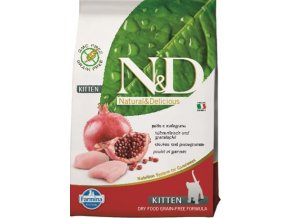 N&D Grain Free CAT KITTEN Chicken & Pomegranate 300g