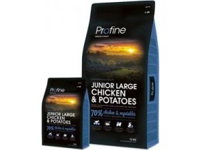 Profine NEW Dog Junior Large Chicken & Potatoes 3kg