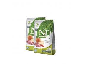 N&D Grain Free DOG Adult Boar & Apple 2x12kg