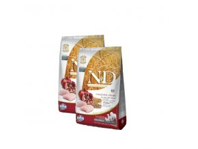 N&D Low Grain DOG Adult Chicken & Pomegranate 2x12kg