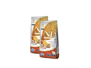 N&D Low Grain DOG Adult Maxi Codfish & Orange 2x12kg