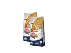 N&D Low Grain DOG Adult Maxi Lamb & Blueberry 2x12kg