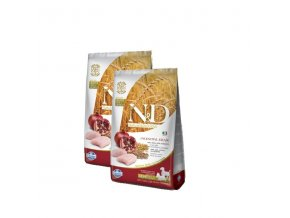 N&D Low Grain DOG Light M/L Chicken&Pomegranate 2x12kg